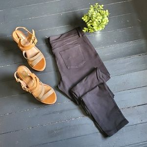 J.crew Skinny Black Pants